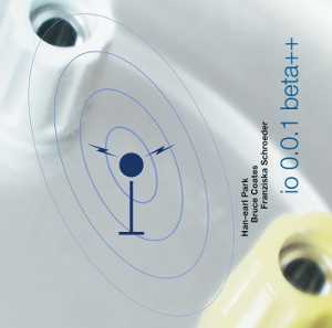 'io 0.0.1 beta++' (SLAMCD 531) CD cover (copyright 2011, Han-earl Park)
