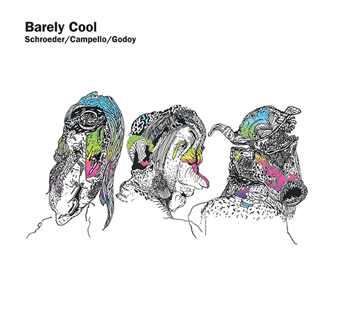 Barely Cool (PFMCD090) CD cover. Barely Cool (PFMCD090). Artwork by Arthur Lacerda. (Copyright 2015 pfMENTUM)